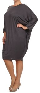 Boutique 9 Plus-size Dolman Sleeves Shift Dress