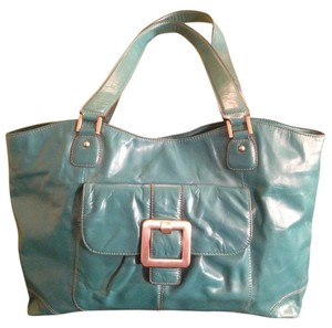 Peck & Peck Tote in turquoise
