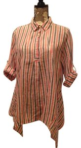 Anthropologie Popover Shirt Blouse Tunic