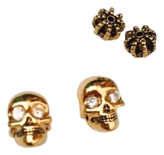 Preload https://img-static.tradesy.com/item/12561901/gold-skull-crystal-earrings-0-1-540-540.jpg