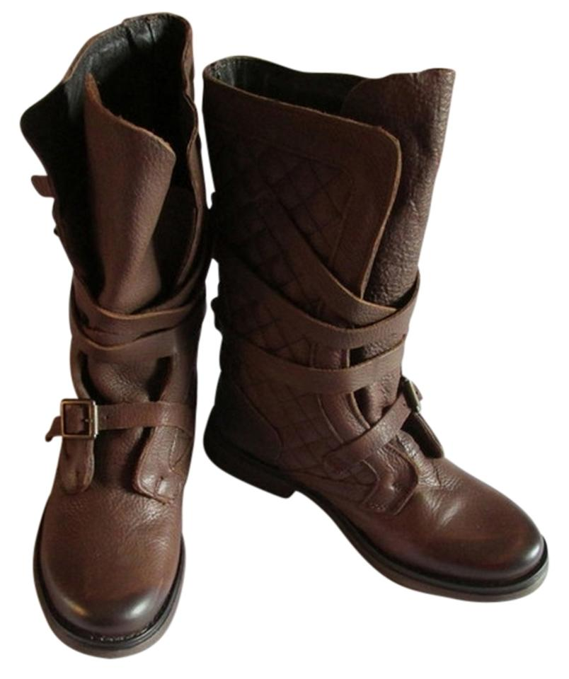 3952d1e5519 Steve Madden Brown Nwot - Real Suede Leather Spectacular Quilted W ...