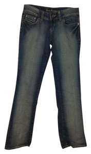 Guess Denim Machine Washable Comfortable Straight Leg Jeans-Light Wash