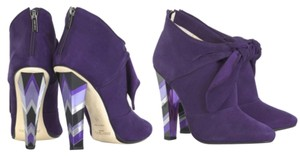 Jimmy Choo Purple Boots