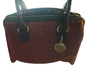Anne Klein Satchel in Deep red