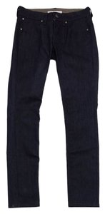 Stella McCartney Dark Blue Raw Denim Skinny Jeans