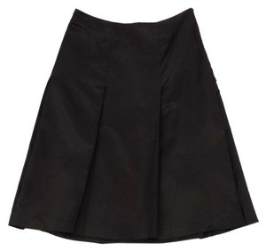 Prada Dark Brown A-line Skirt
