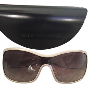 Marc by Marc Jacobs Tan Square Band Sunglasses