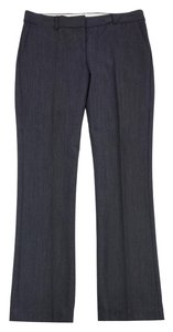 Theory Grey Wool Herringbone Pants