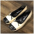 Chanel Cream/Black Classy Heels Loafers Wedges Size US 6 Chanel Cream/Black Classy Heels Loafers Wedges Size US 6 Image 3