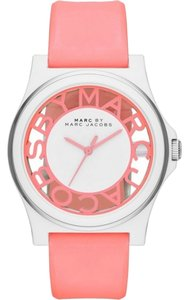 Marc Jacobs Marc by Marc Jacobs MBM4016 Pink Silicone Strap Ladies Watch