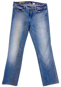 J.Crew Short Prewashed Casual Acid Straight Leg Jeans