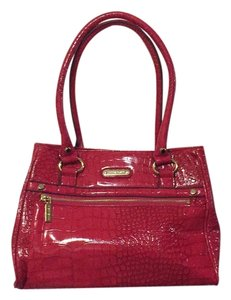 Anne Klein Satchel in Red