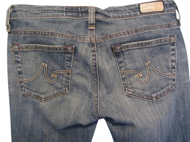 Item - Distressed The Angel Boot Cut Jeans Size 26 (2, XS)