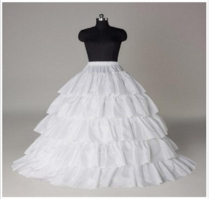 Five Layers Flounced A-line Petticoats For Ball Gowns