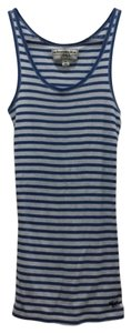abercrombie kids Vintage Striped Top blue, white