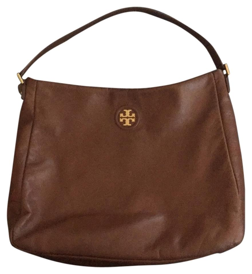 dea43379915 Tory Burch City Hobo 32129865 Brown Leather Tote - Tradesy