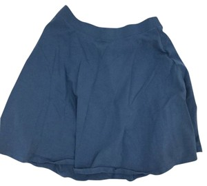 Forever 21 Skater Skirt Light Blue