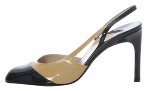 Chanel Two-tone Leather Ch.j0423.14 Pumps