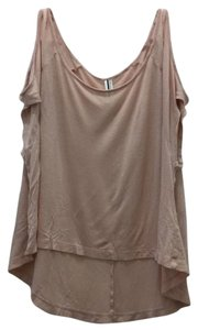 Forever 21 Open T Shirt Pink