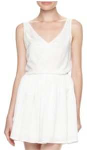 Patterson J. Kincaid short dress White on Tradesy