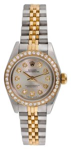 Rolex Automatic 26mm 14K Gold and Stainless Steel Rolex Oyster Perpetual
