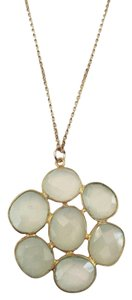 Independent Clothing Co. Peruvian Chalcedony Small Cluster Necklace