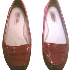 Steve Madden Loafers red Flats
