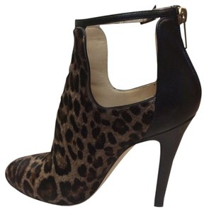Jimmy Choo Leopard print and black Boots