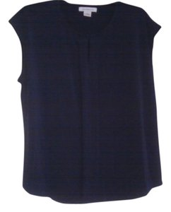 Liz Claiborne Top navy blue