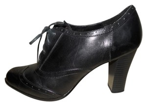 Connie Leather black Boots