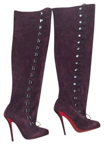 Christian Louboutin Dark purple Boots