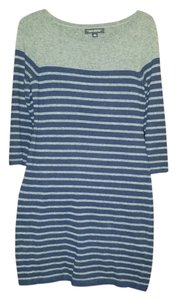 Banana Republic short dress Navy Sweater Striped on Tradesy