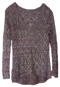 Maurices Plum Wine Sequins Sweater