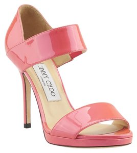 Jimmy Choo Alana Patent Leather Heels Pink Pumps