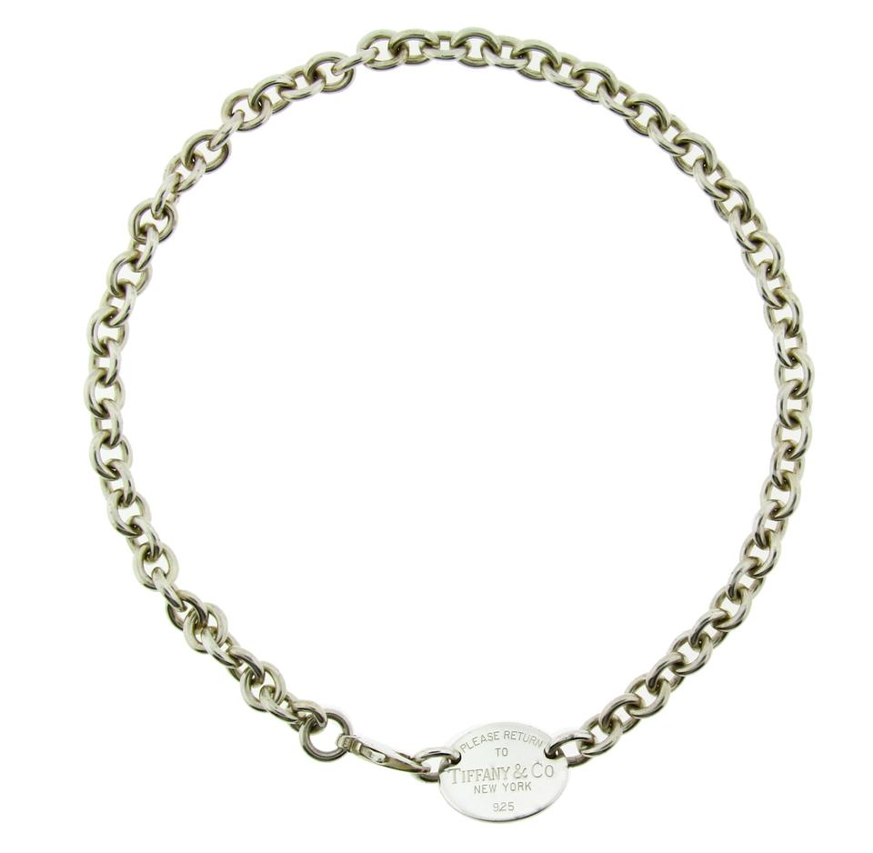 bd75aac6f Return To Tiffany Co Necklace In Sterling Silver Used In Condition ...