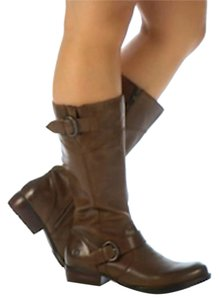 Børn Fashion Brown Leather Truffle Boots