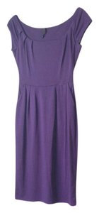 Double Zero short dress purple Pockets Cap Sleeves on Tradesy