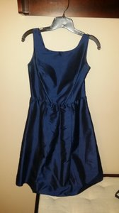 Ann Taylor Navy Ann Taylor Bridesmaid Dress