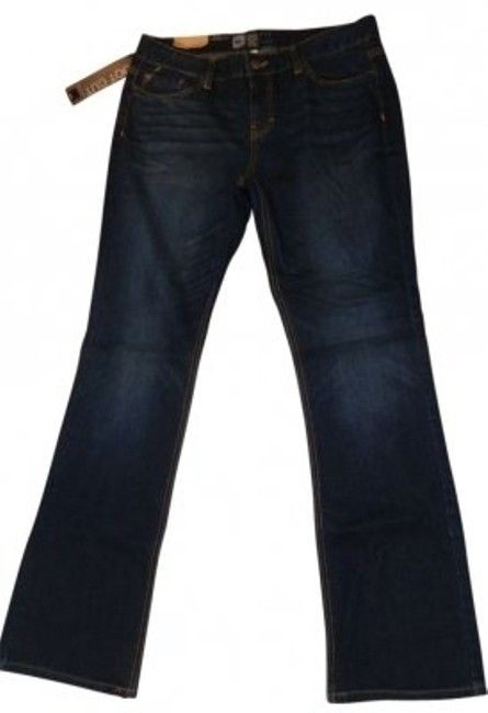 Preload https://img-static.tradesy.com/item/12577/mossimo-supply-co-blue-dark-rinse-mid-waist-and-curvy-boot-cut-jeans-size-34-12-l-0-0-650-650.jpg