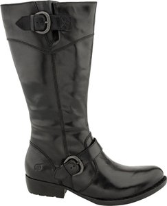 Børn Leather Comfortable Black Boots