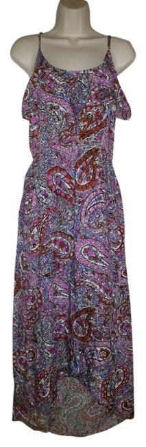 Preload https://item4.tradesy.com/images/wet-seal-pink-paisley-high-low-casual-maxi-dress-size-4-s-1257883-0-0.jpg?width=400&height=650