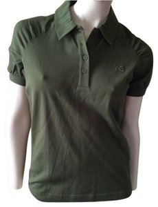 Y-3 Button Down Shirt Olive Green