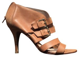 ALDO Strappy Leather Sandals Brown Pumps