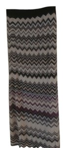 White House | Black Market Chevron Maxi Knit Zigzag Maxi Skirt