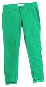 Hollister Skinny Pants Green