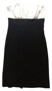 Misope Black And Satin Dress