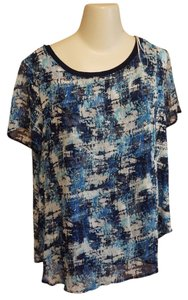 Bellatrix Painterly Abstract Tunic