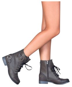 Dolce Vita Combat Leather Boots