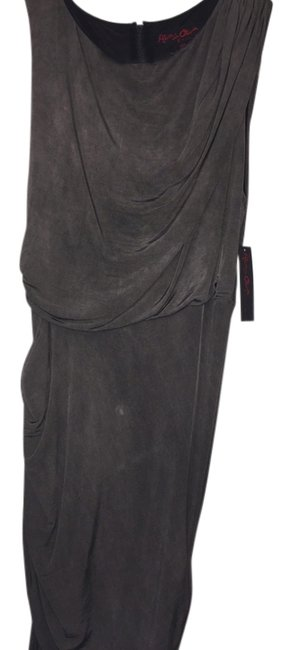 Item - Grey / Charcoal Air508301 / A010 Mid-length Night Out Dress Size 8 (M)