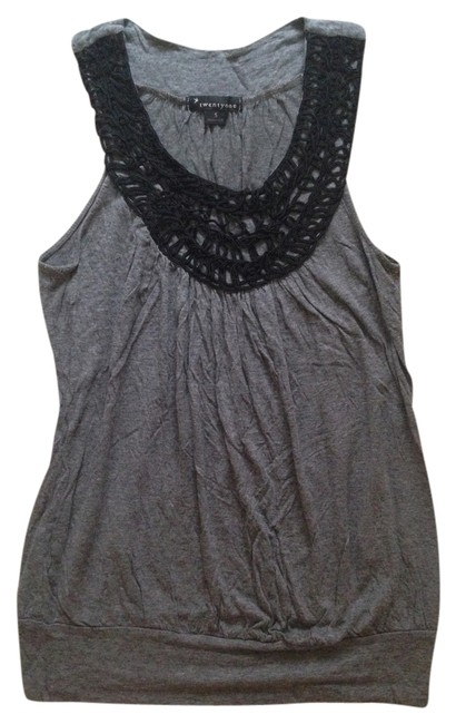 Forever 21 Casual Top Grey